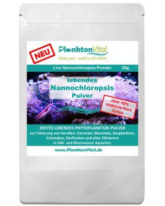 lebendes Nannochloropsis